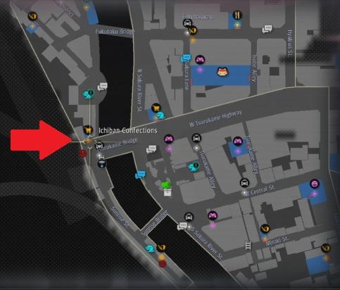 yakuza like a dragon ichiban confections location map.jpg