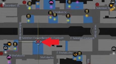 yakuza like a dragon sotenbori battle arena map.jpg