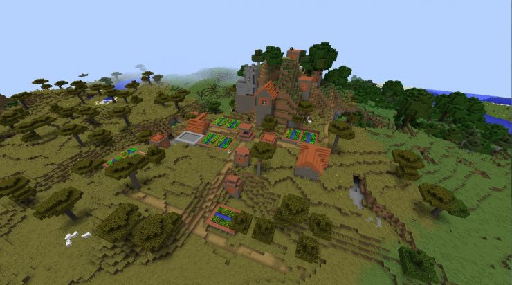 Awesome Minecraft seeds